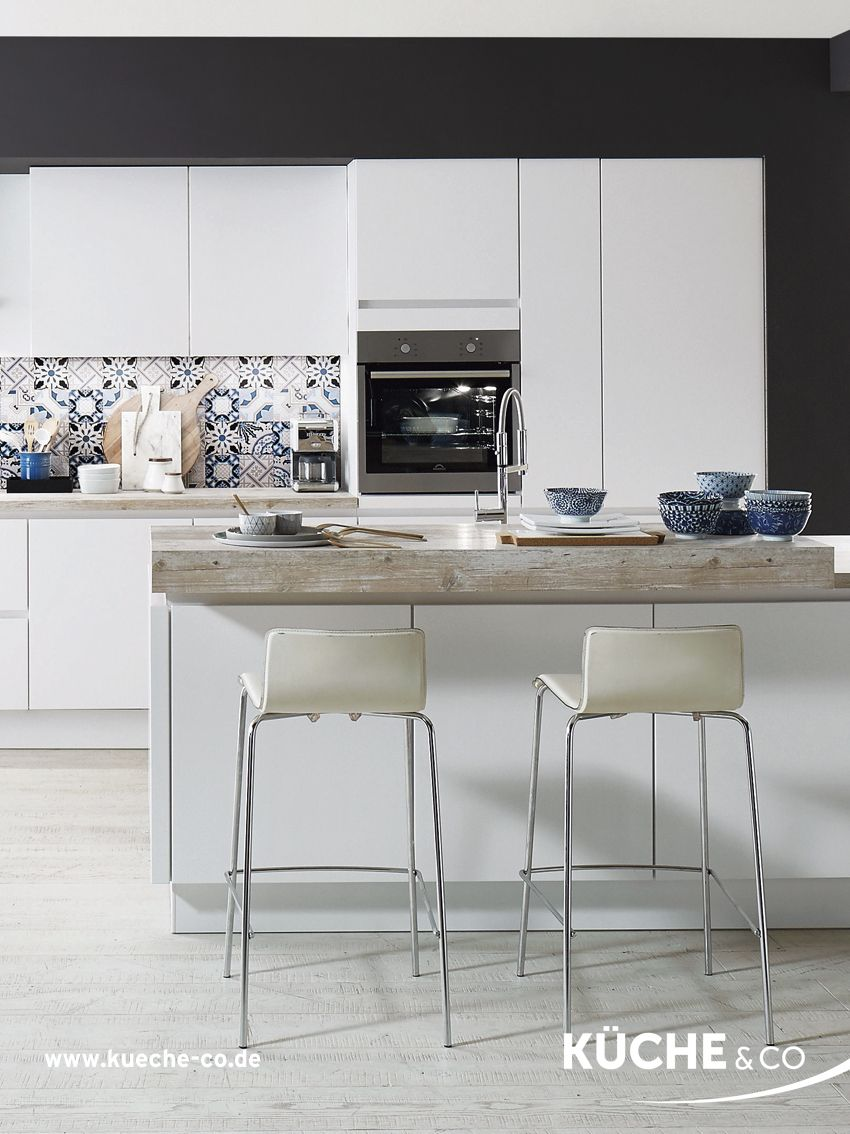 Design Kuche In Alpinweiss Mattlack Kuche Modern Delft In 2020 Moderne Kuche Kuchen Design Kuche