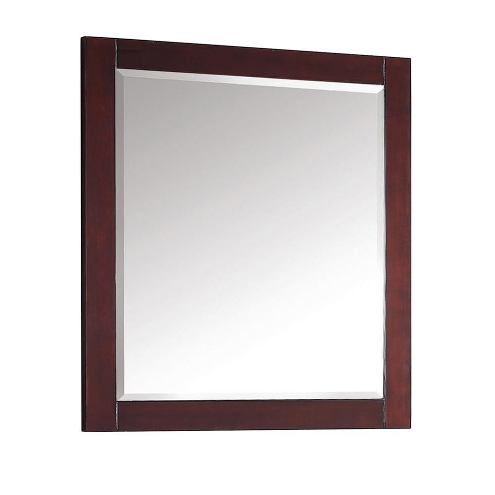 Avanity Modero 28 In W X 32 In L Freestanding Mirror In Espresso