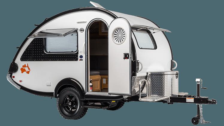 T B Teardrop Campers T B 320 Cs S Boondock Floor Plan Kitchen On Exterior Back Toilet Option Teardrop Camper Camper Recreational Vehicles