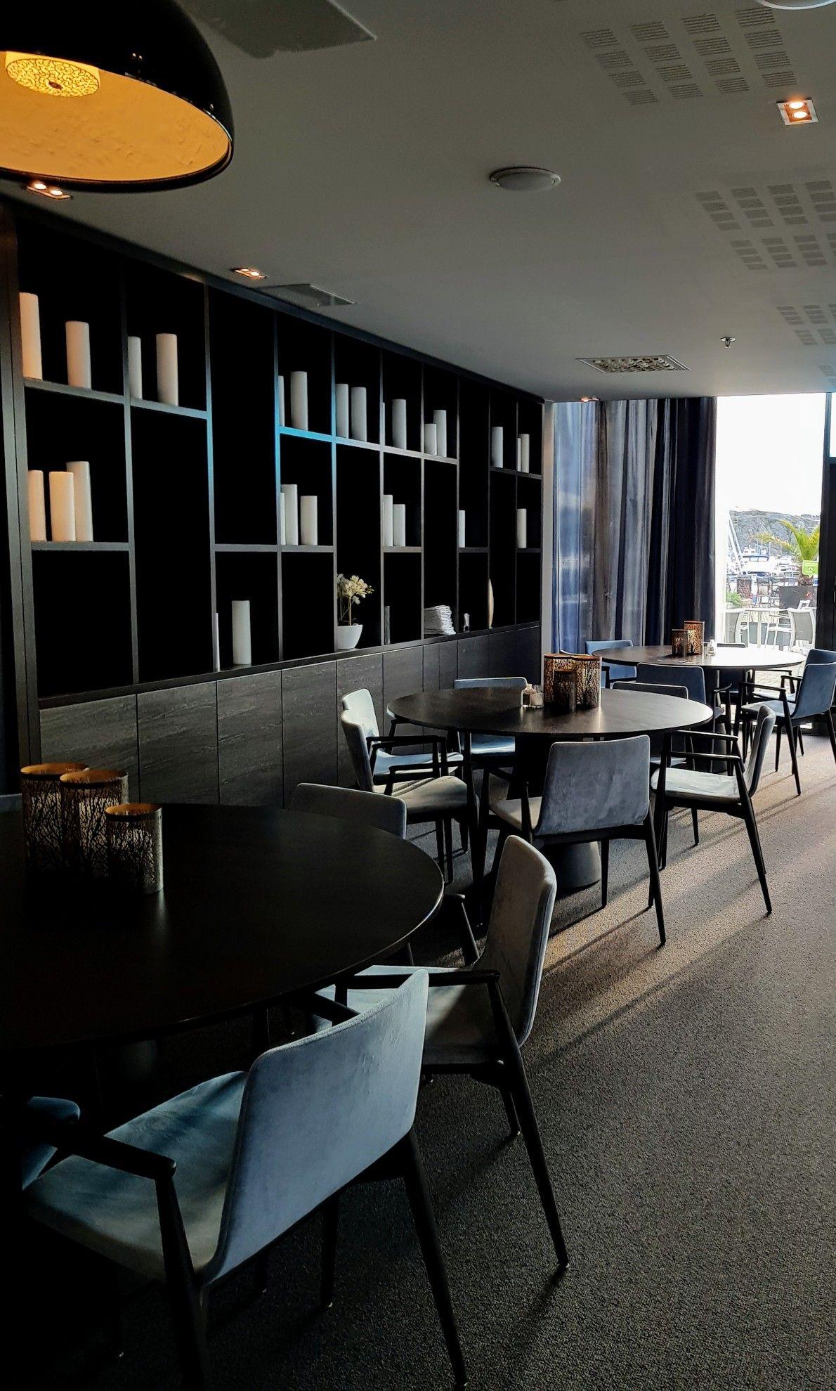 Part of the restaurang att Strömstad Spa hotel Sweden