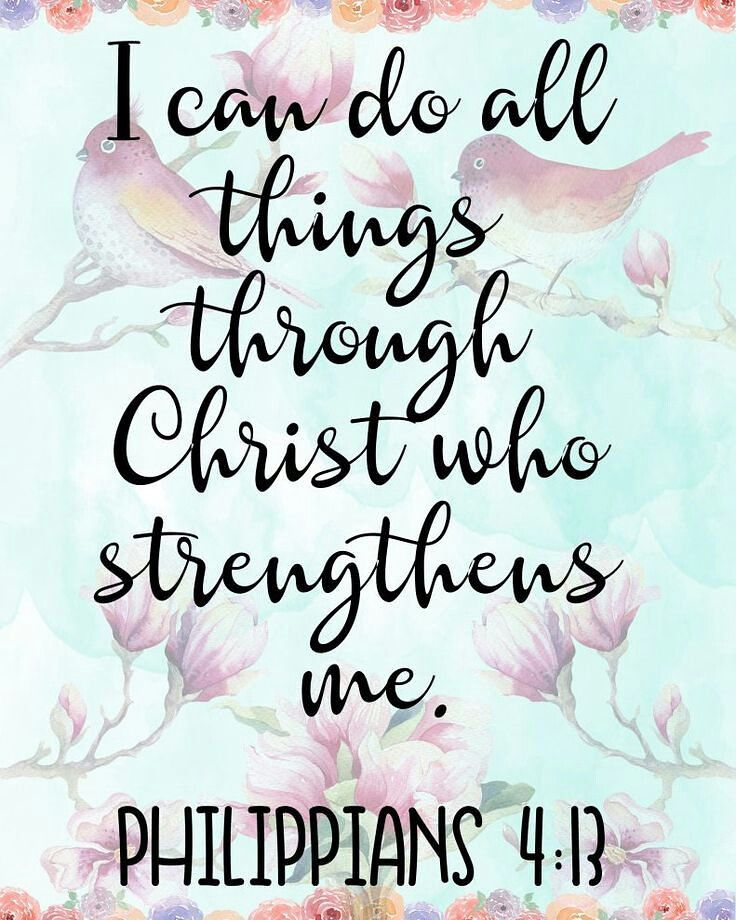 Today S Verse Of The Day Philippians 4 13 Philippians