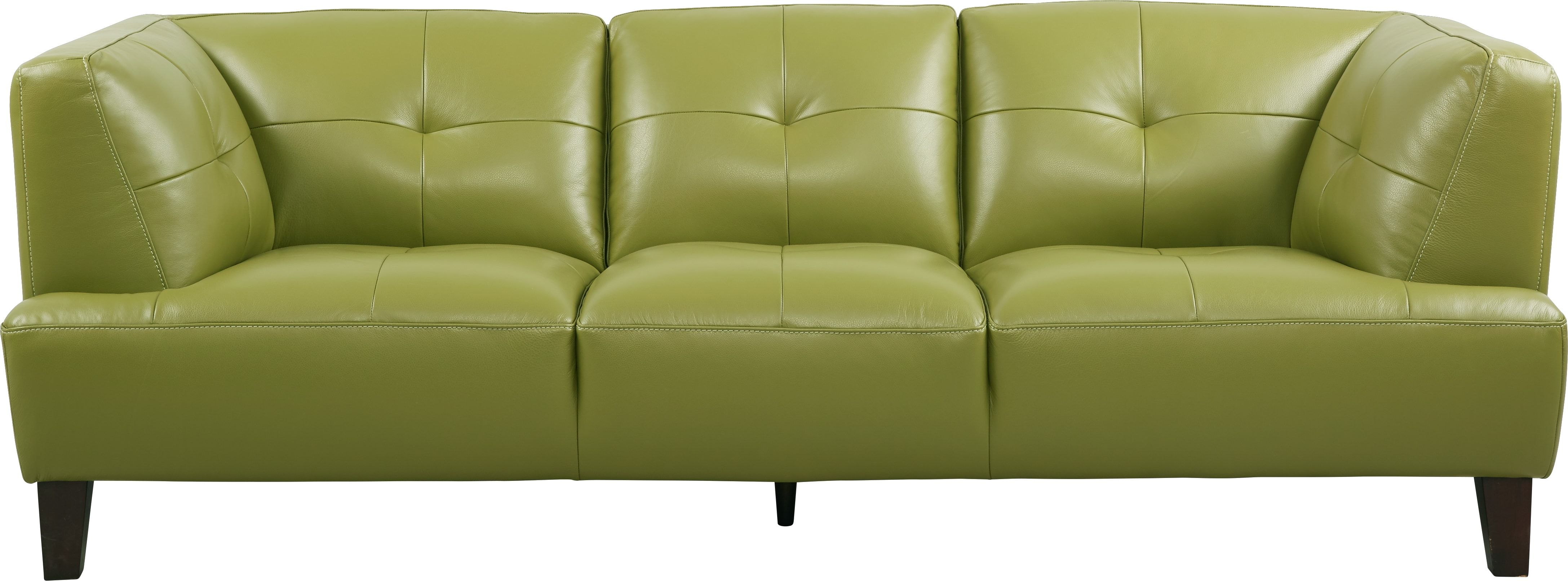Villa Capri Green Leather Sofa Green Leather Sofa Sofa Leather Sofa