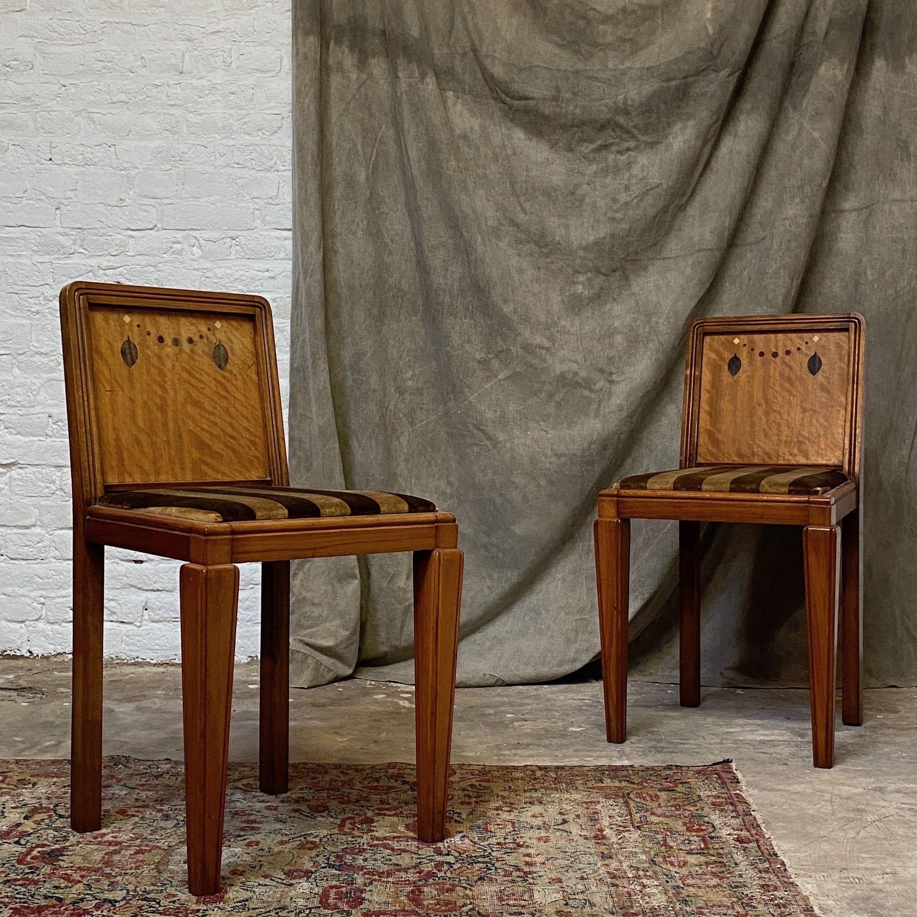 Art Deco Chairs En 2020 Objet