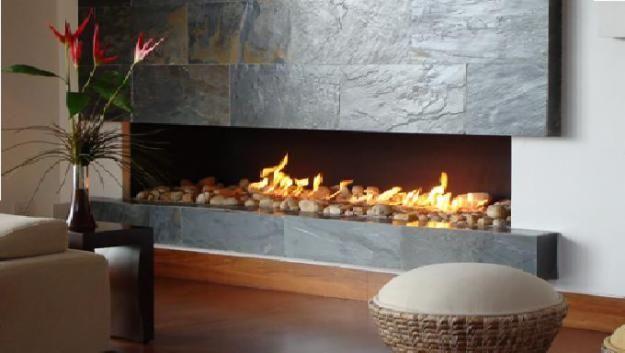 Chimenea Moderna Para Salón De Primera Planta Fireplace