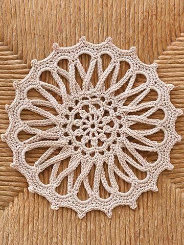 4 Hour Doilies Crochet Pattern Leaflet Dantel Kk Motifler