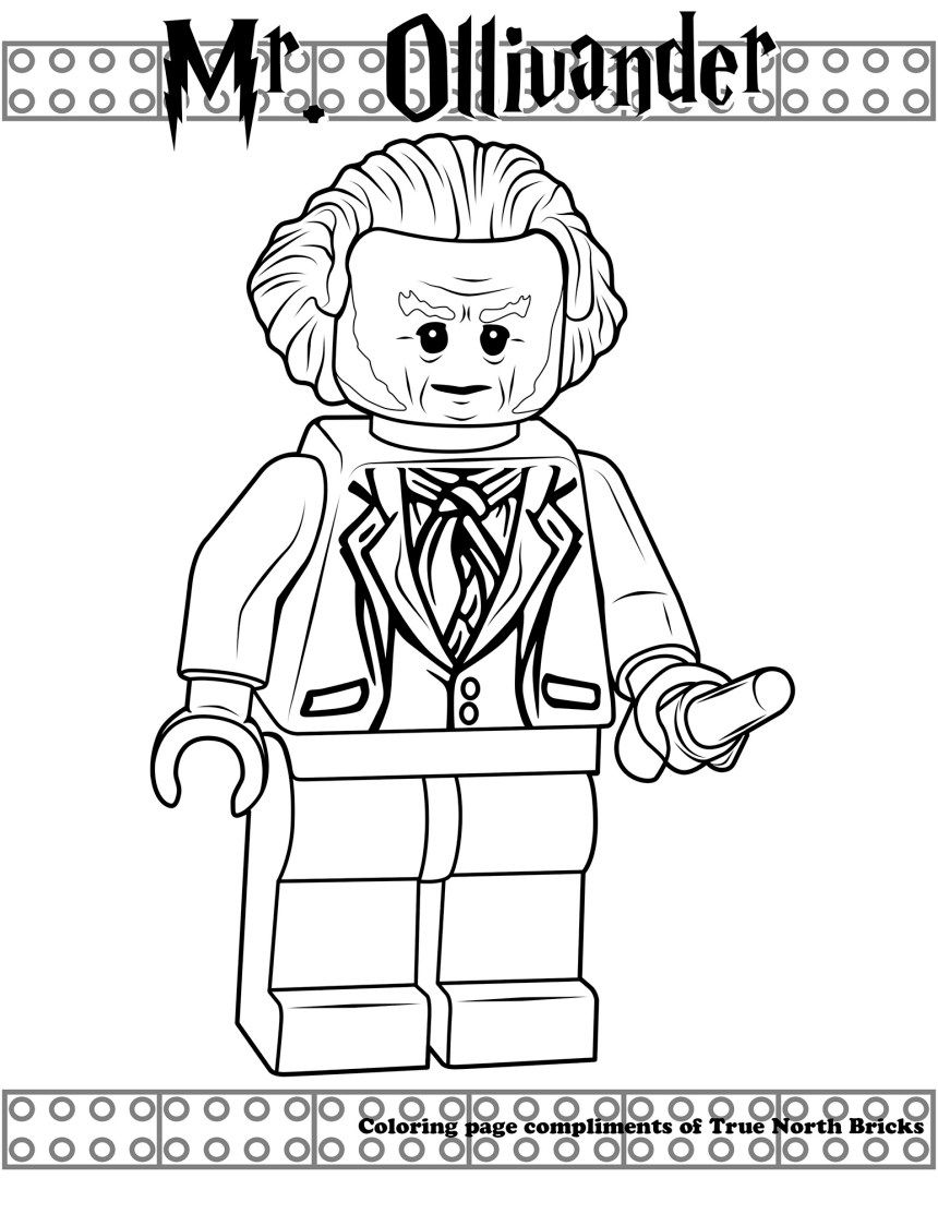 Harry Potter Contest From Lego Ideas True North Bricks Harry Potter Coloring Pages Lego Coloring Pages Lego Coloring
