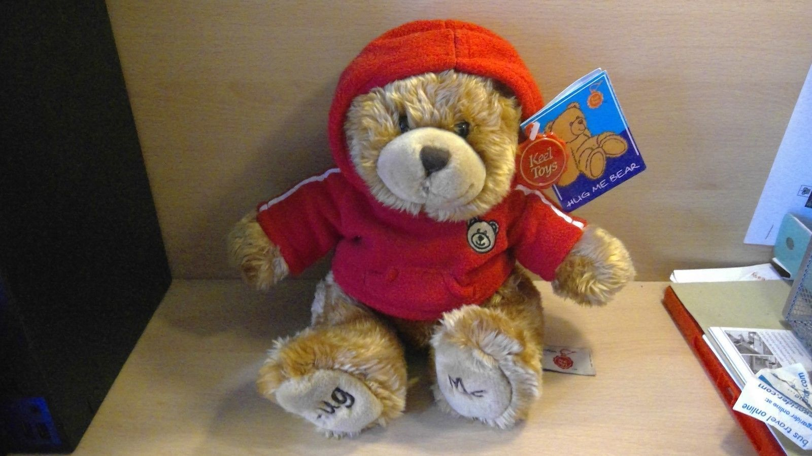 Keel toys hug me #teddy bear #simply soft #collection ,  View more on the LINK: http://www.zeppy.io/product/gb/2/192056838652/