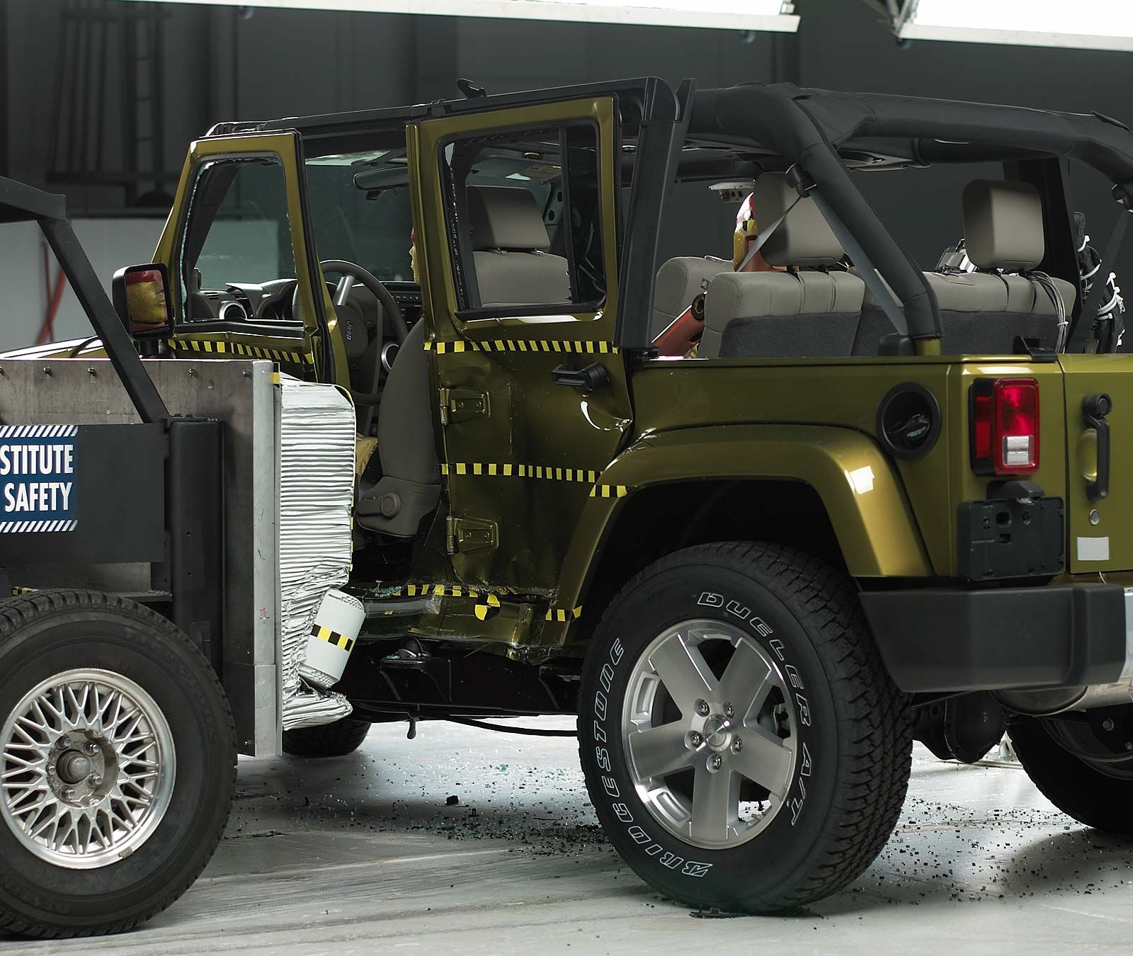 Great Jeep Wrangler Unlimited Safety Ratings