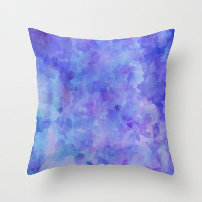 ice 04 Throw Pillow by noirblanc777 - $20.00