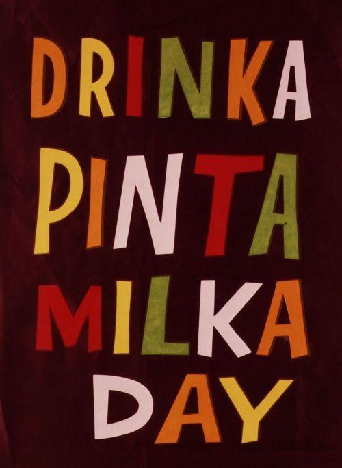 Patrick Tilley Drinka Pinta Milka Day Vintage Advertisements
