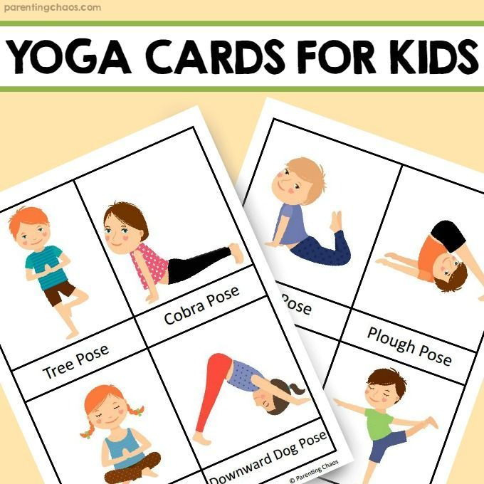 Free Yoga Poses Cards | Kayayoga co
