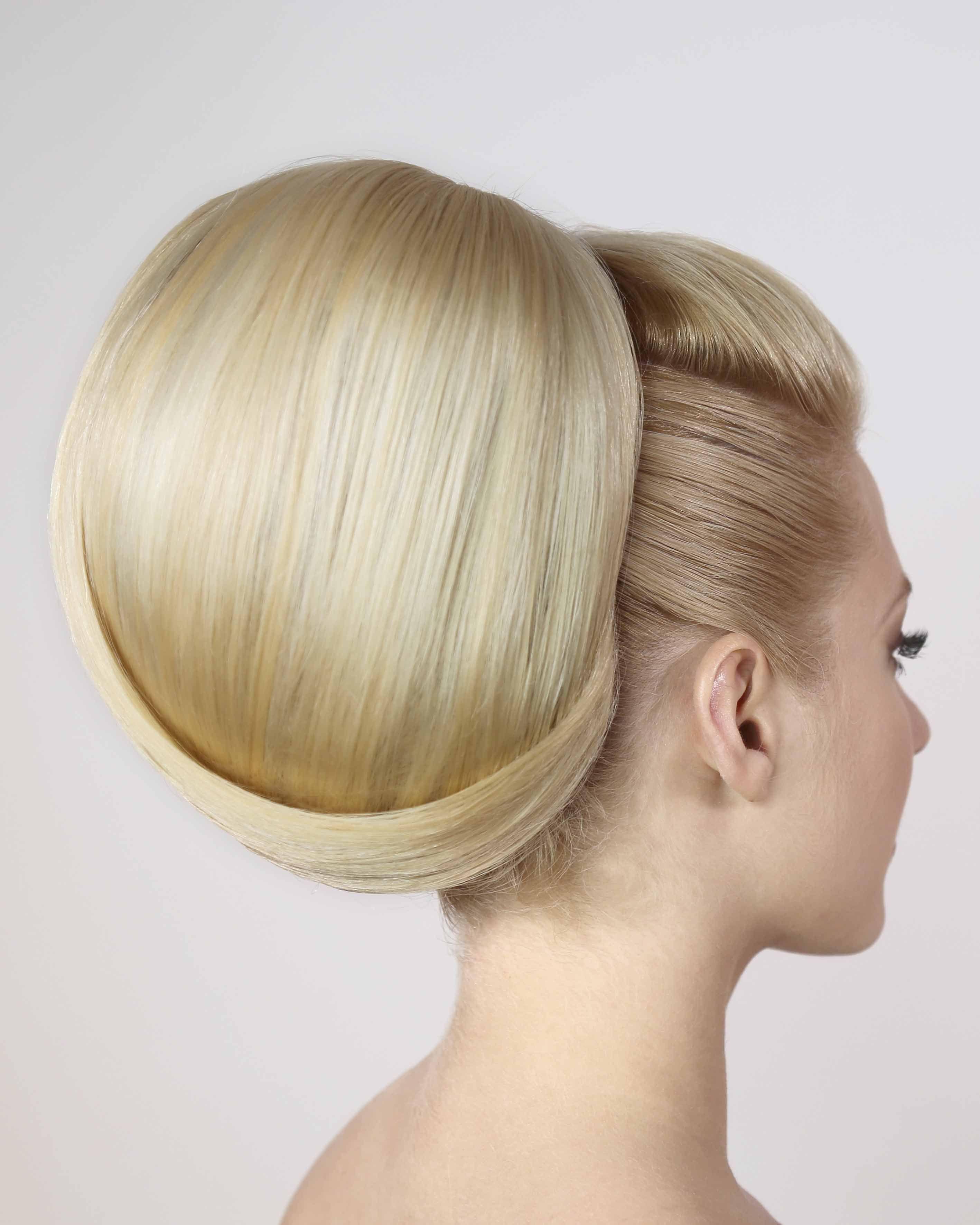 large bouffant hair