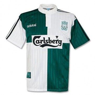 b74550aae 95-96 Liverpool Away Shirt - Used