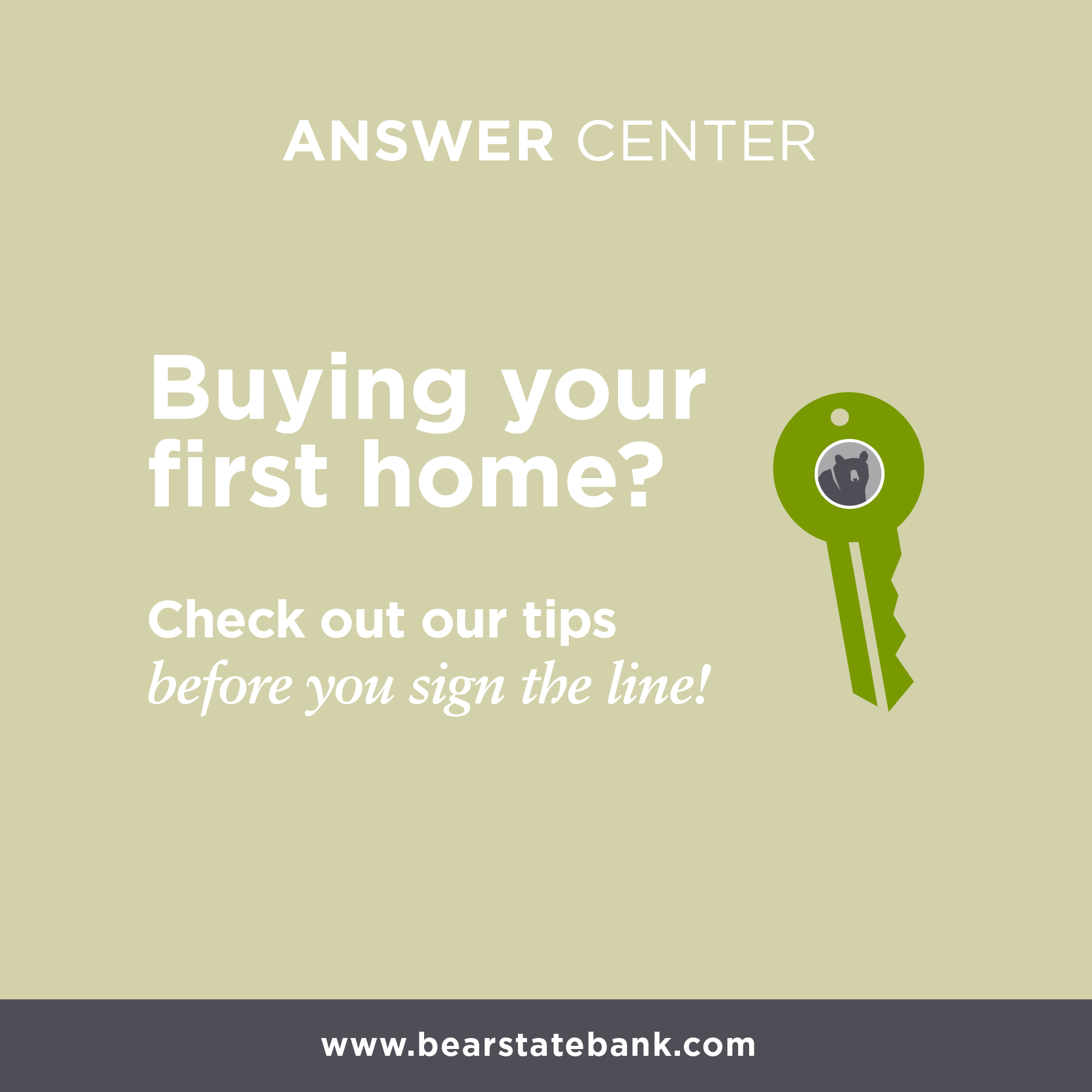 Buying your first home? Check out our tips before you sign the line