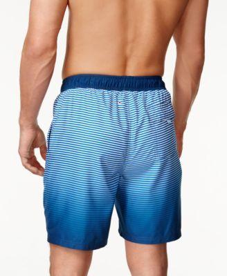 0648c9d505 Calvin Klein Men's Ombre Striped Swim Trunks, 7