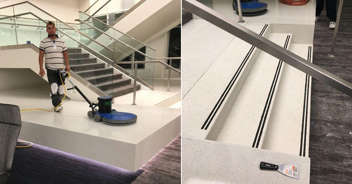 Terrazzo Flooring Contractor Terrazzo Staircases