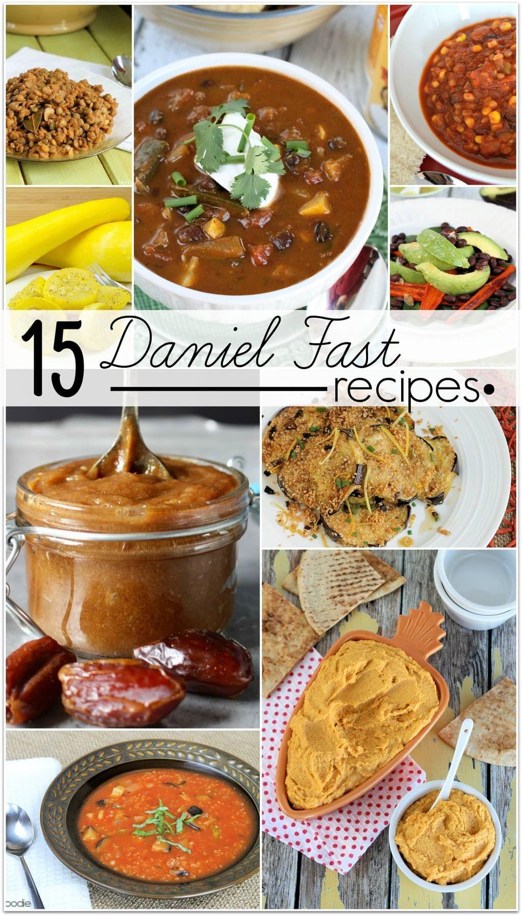 15 Incredible Daniel Fast Recipes - Food Fun & Faraway Places