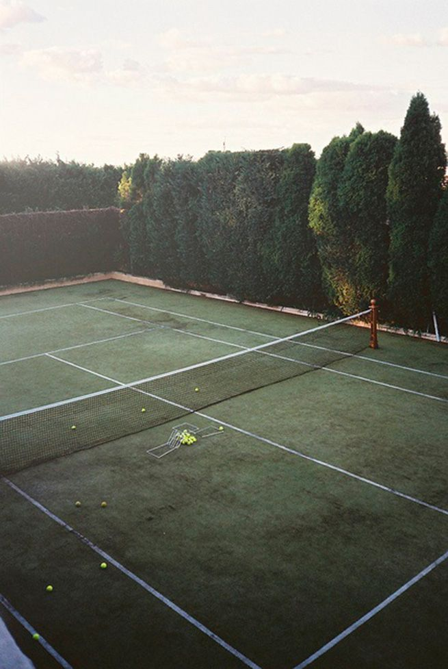 Tennis Anyone The Scout Guide Tennis Tennis Court Court