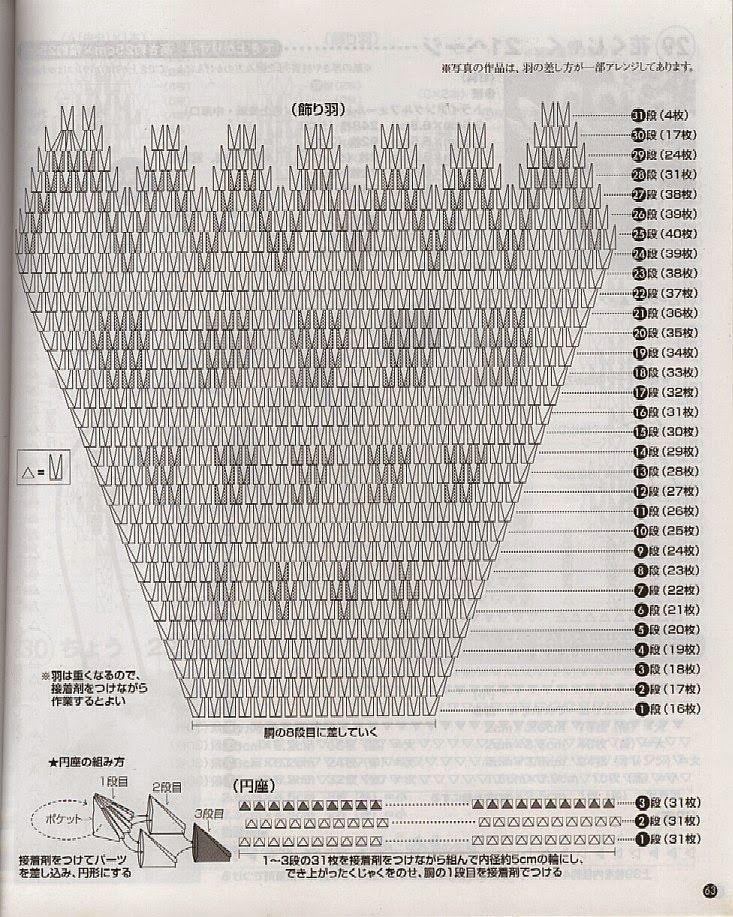Diagrama Pavo Real Origami Modular 3D