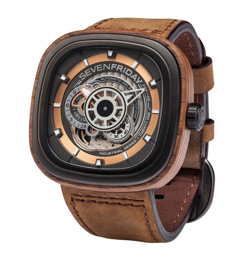 seven friday p2b 03 woody automatic watch available to buy at seven friday p2b 03 woody automatic watch available to buy at harrods shop men s