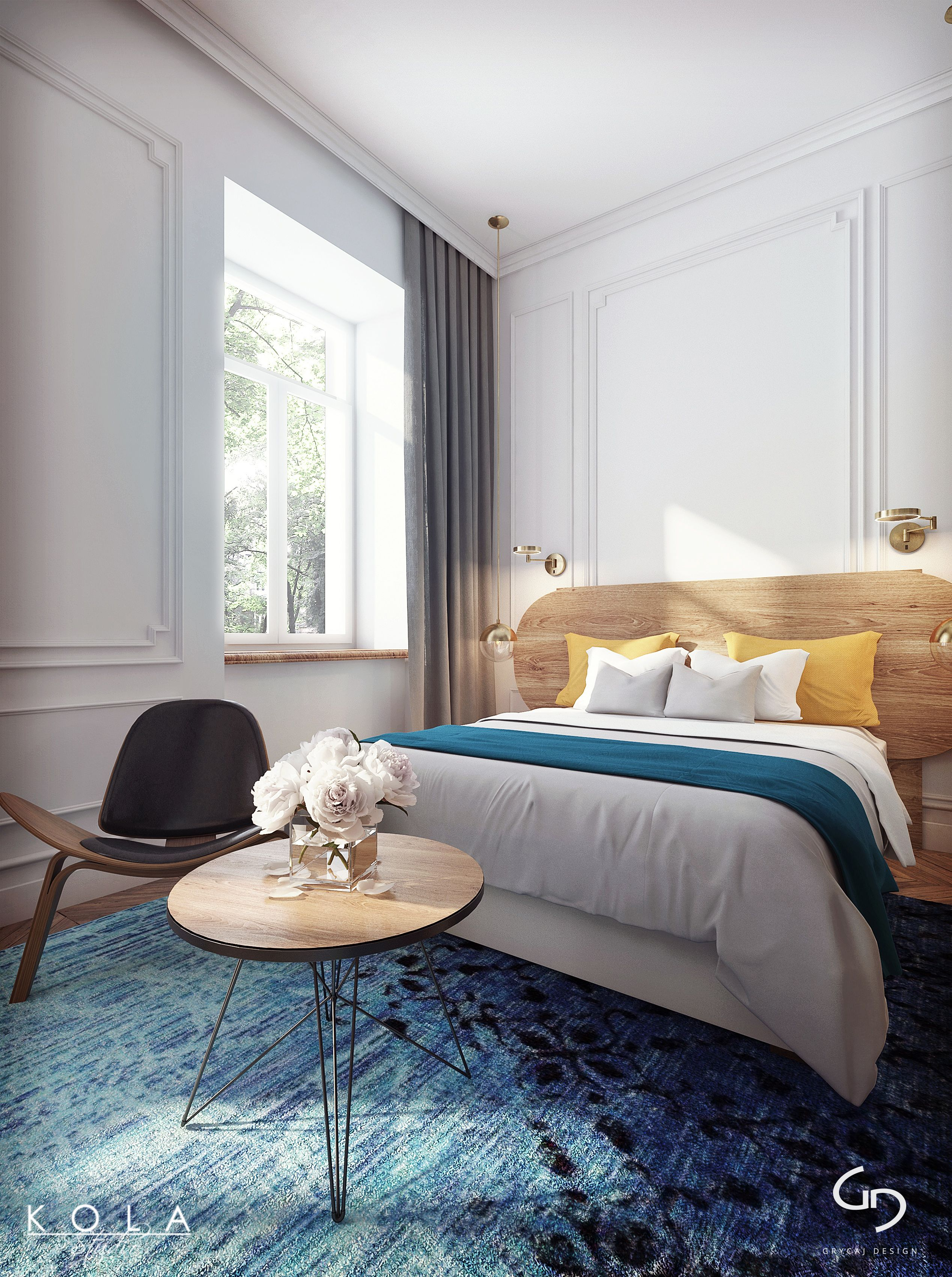 Visualizations of a boutique hotel room 3D model - Hotel room ... 30bdd14afec