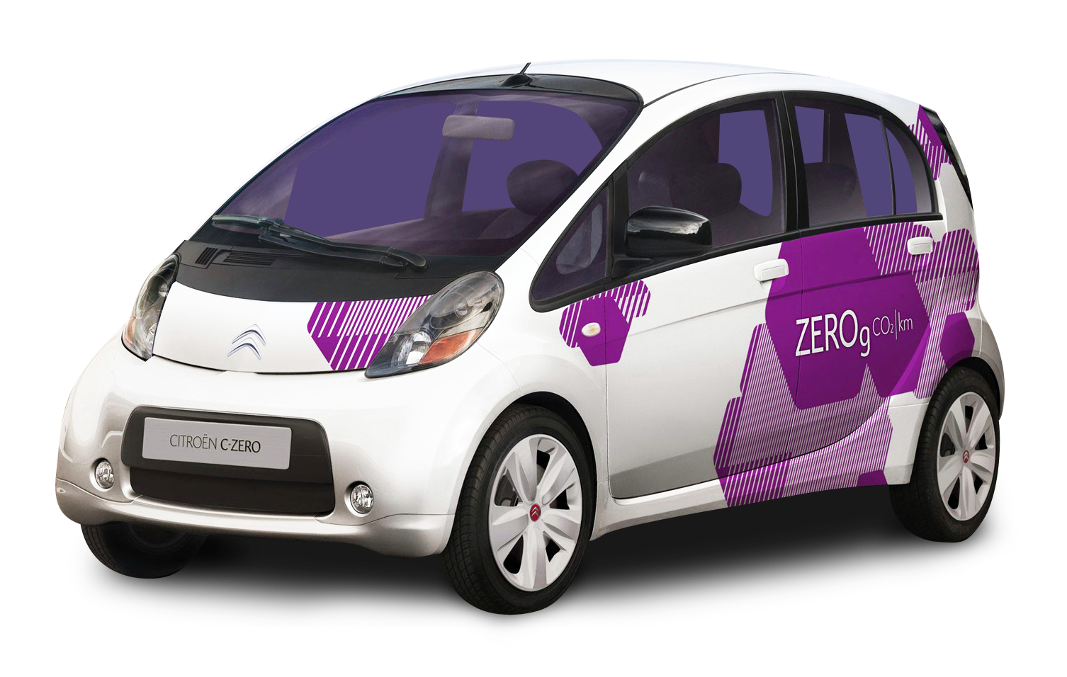 White Citroen C Zero Small Car Png Image Small Cars Car Png Car Lettering