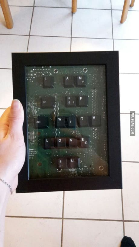 I made this for my BF (btw he's a gamer) What do you think?