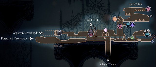 Hollow Knight Maps Of Hallownest Knight Map Hollow Night