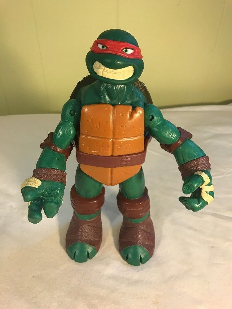 Raphael 10 Battle Shell Figure Teenage Mutant Ninja Turtles Tmnt