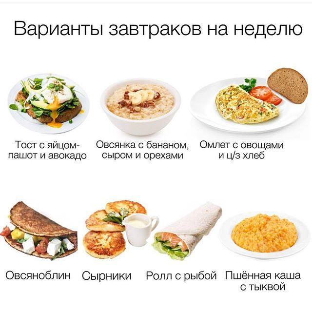 Варианты Правильного Завтрака При Похудении. Вкусный здоровый завтрак спортсмена