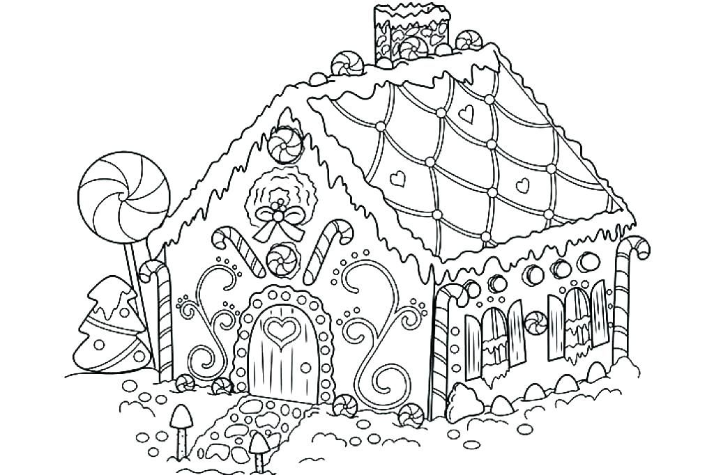 Grab Your New Coloring Pages Gingerbread House Download Https Gethig Free Christmas Coloring Pages House Colouring Pages Printable Christmas Coloring Pages