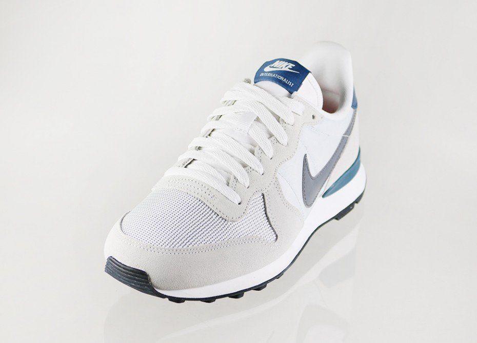free shipping 56ac9 cfda3 Nike Internationalist (Light Base Grey   Cool Grey - New Slate - Summit  White)