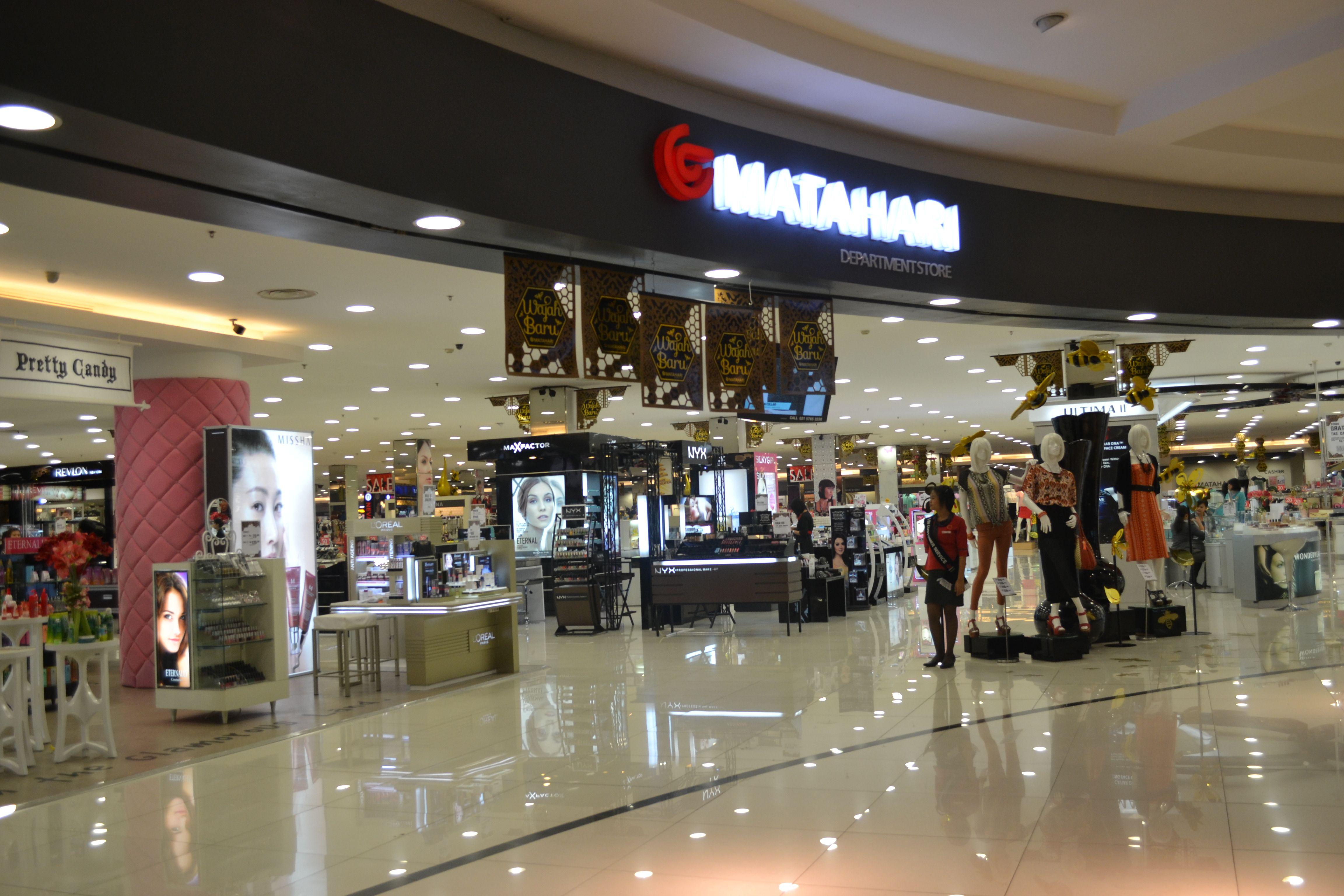 Matahari Dept. store lt. LG, UG, & Basement , west atrium