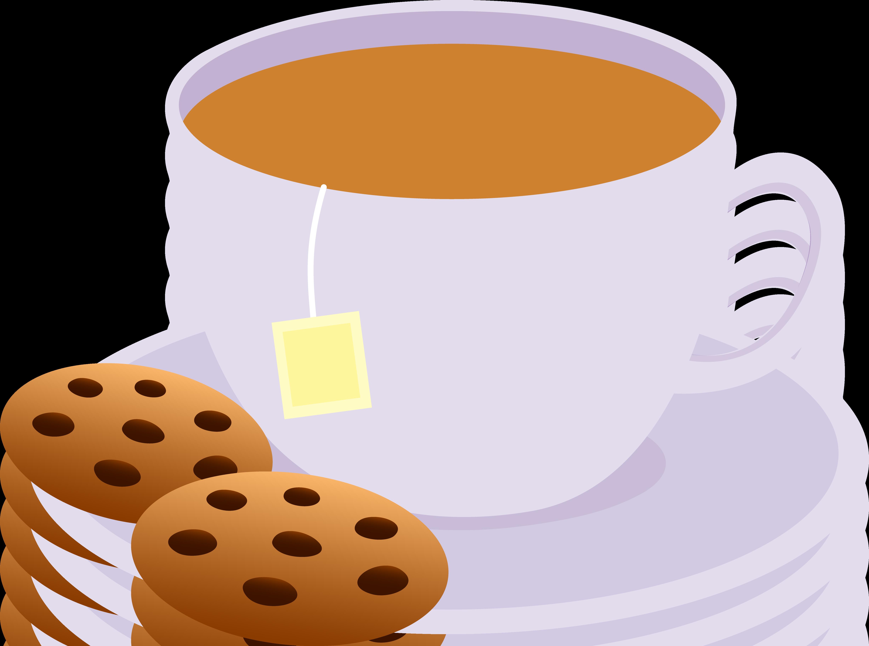 tea and cookies clip art kitchen clipart pinterest teas rh pinterest com tea clipart black and white tea clipart png