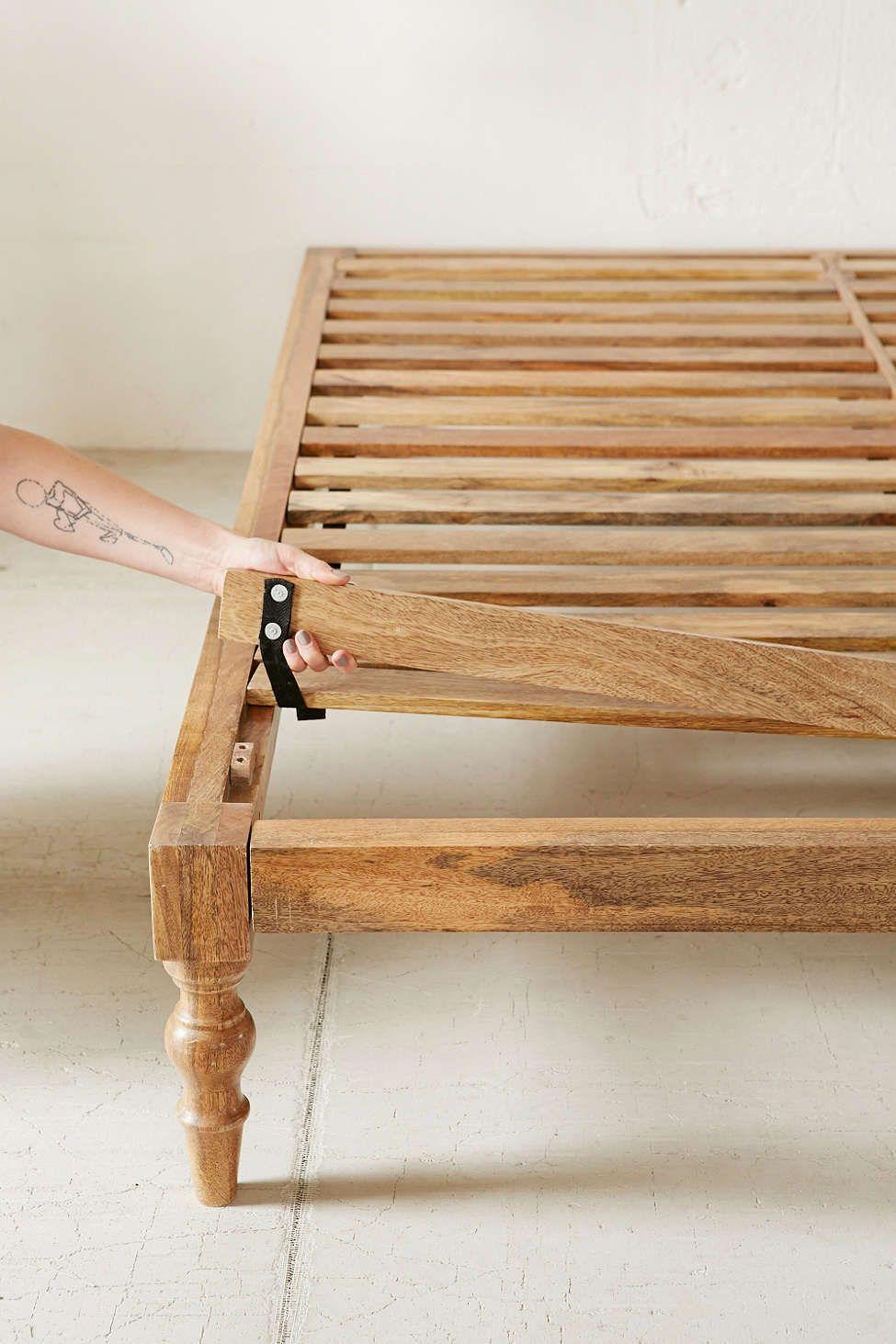 Bohemian Platform Bed Diy Platform Bed Bohemian Platform Bed Diy Bed Frame