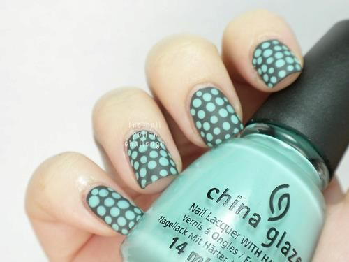 Dot Designs For Nails Cute Hair Nails And Makeup Pinterest