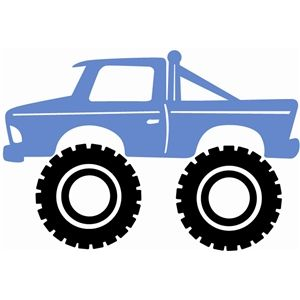 monster truck silhouette design silhouettes and monsters rh pinterest com au monster truck clipart png monster truck clipart black and white
