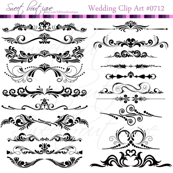 Flower digital borders frames ornate wedding shower decorations flower digital borders frames ornate wedding shower decorations supplies clipart scrapbooking craft supply buy 3 get 1 free clipart 0712 junglespirit