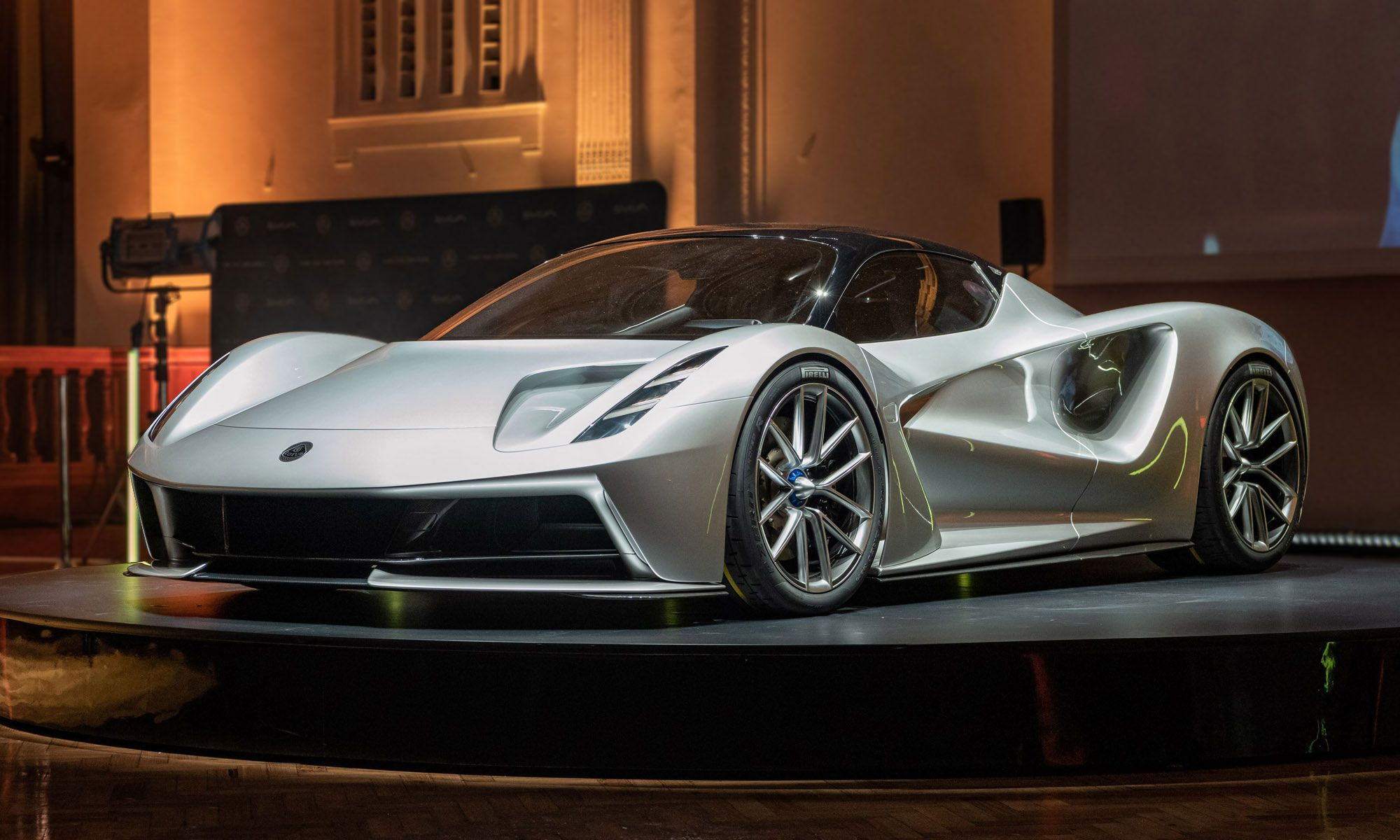Lotus Evija All Electric Supercar Revealed Electric Sports Car Lotus Car Latest Cars