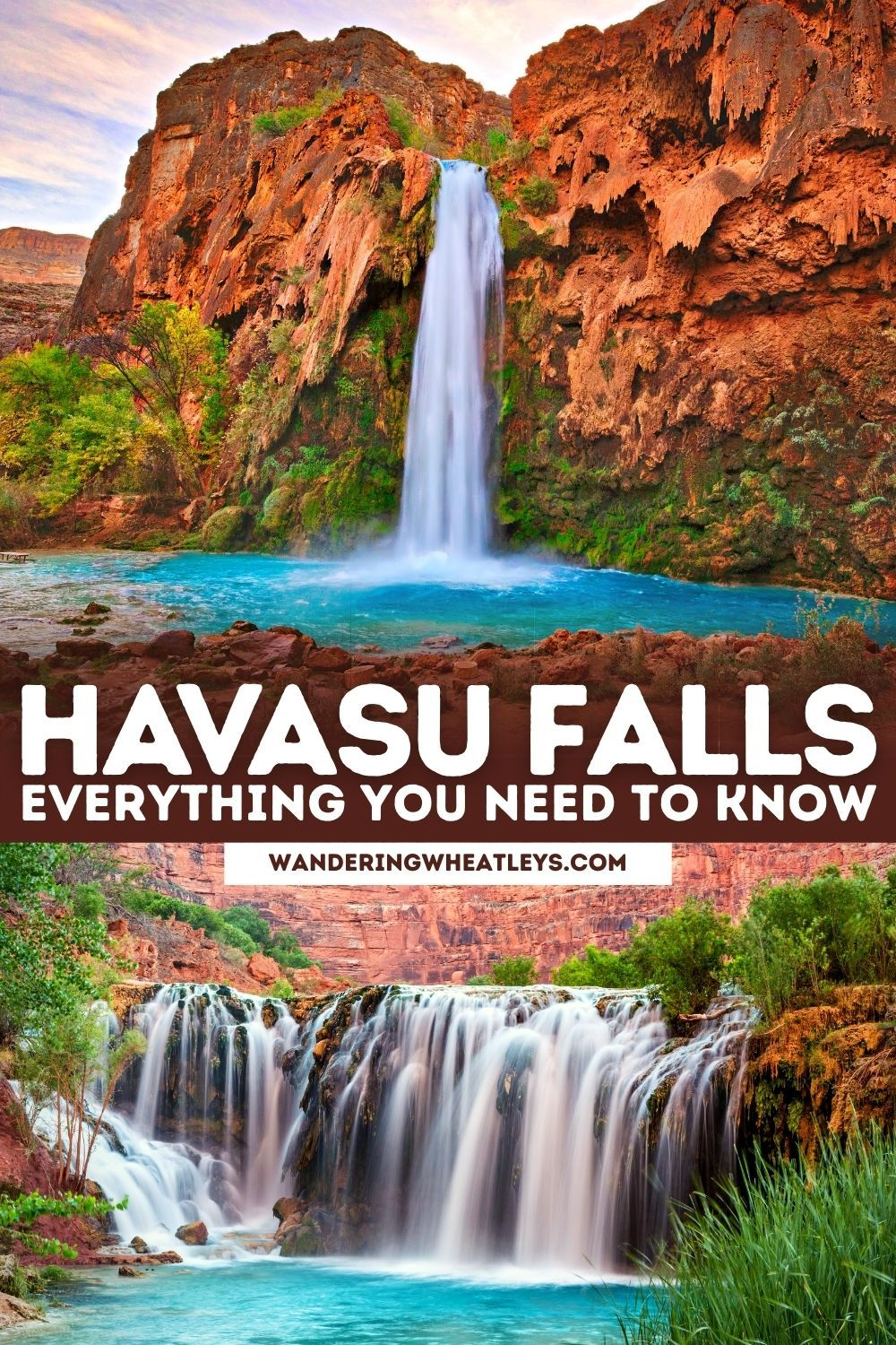 The Ultimate Havasu Falls Guide Everything You Need To Know Before You Go To Havasu Falls Including How To Get To