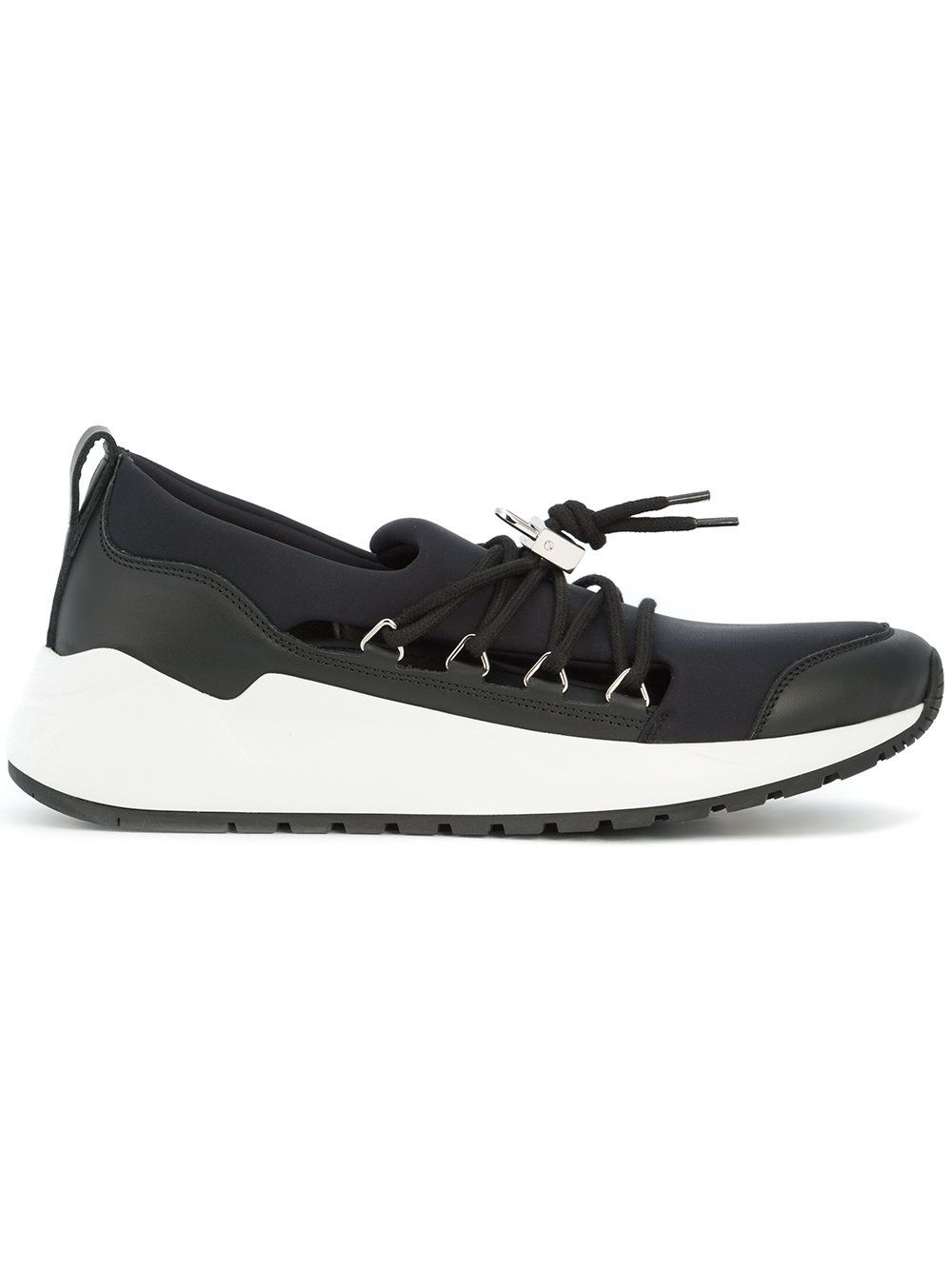 panelled lace-up sneakers - Blue Buscemi 6X3Xa