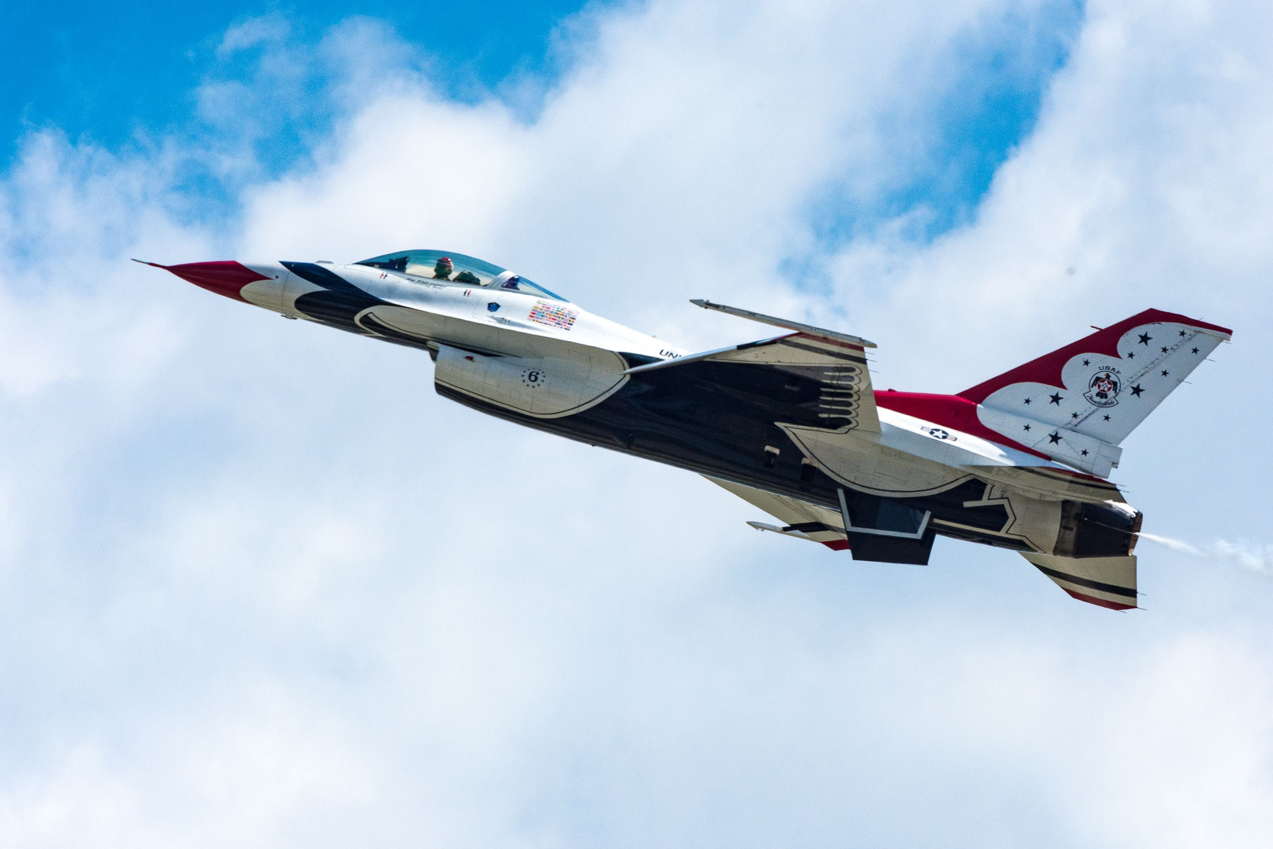 Wings over Pittsburgh Air Show U.S.A.F Thunderbirds Usaf
