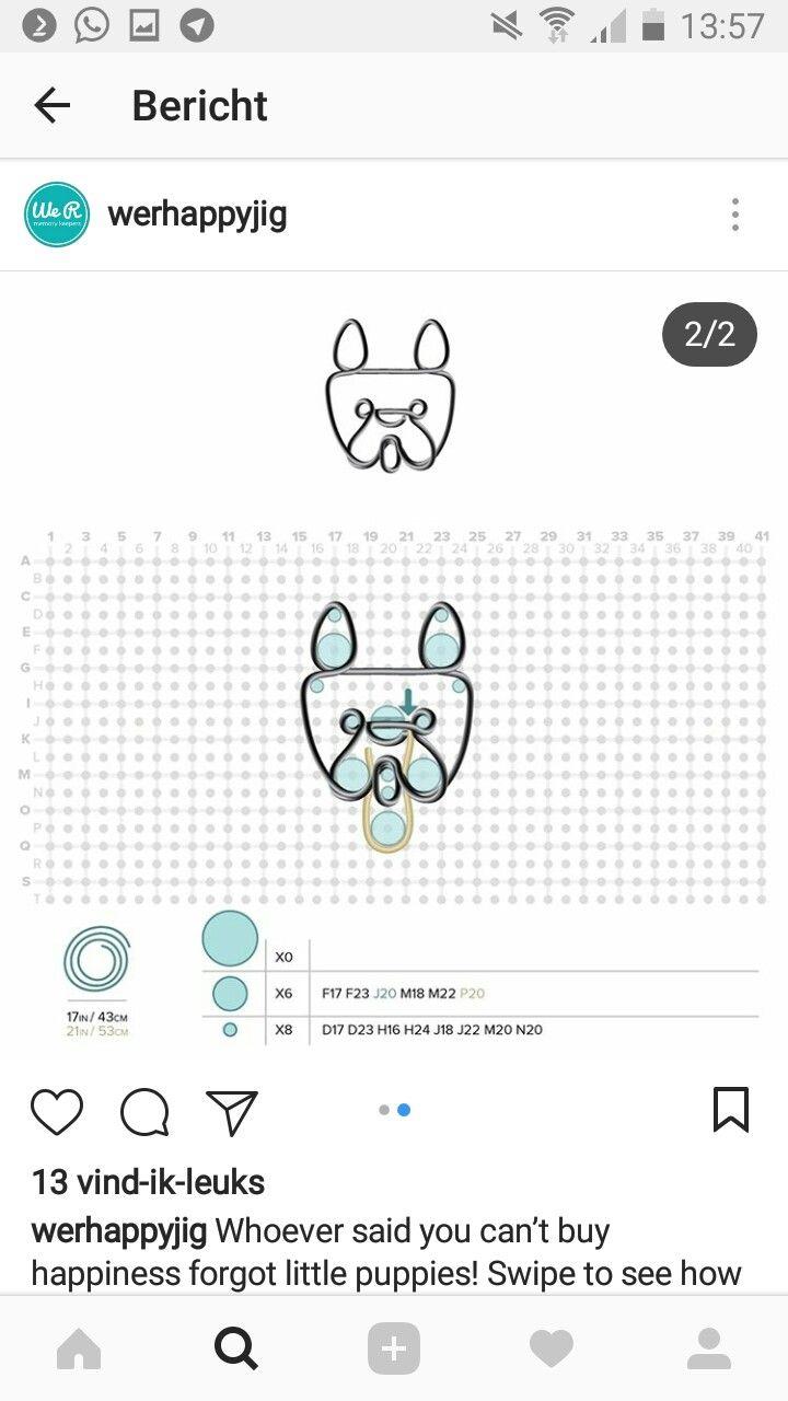 We r memory keepers happy jig pattern Dog | Happy jig | Pinterest ...