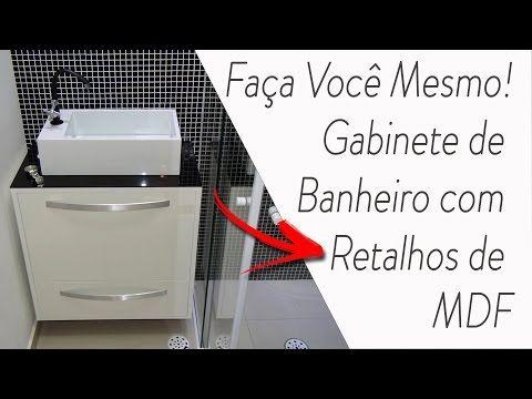 Como Fazer Um Gabinete Movel De Pia De Coluna Banheiro Pequeno