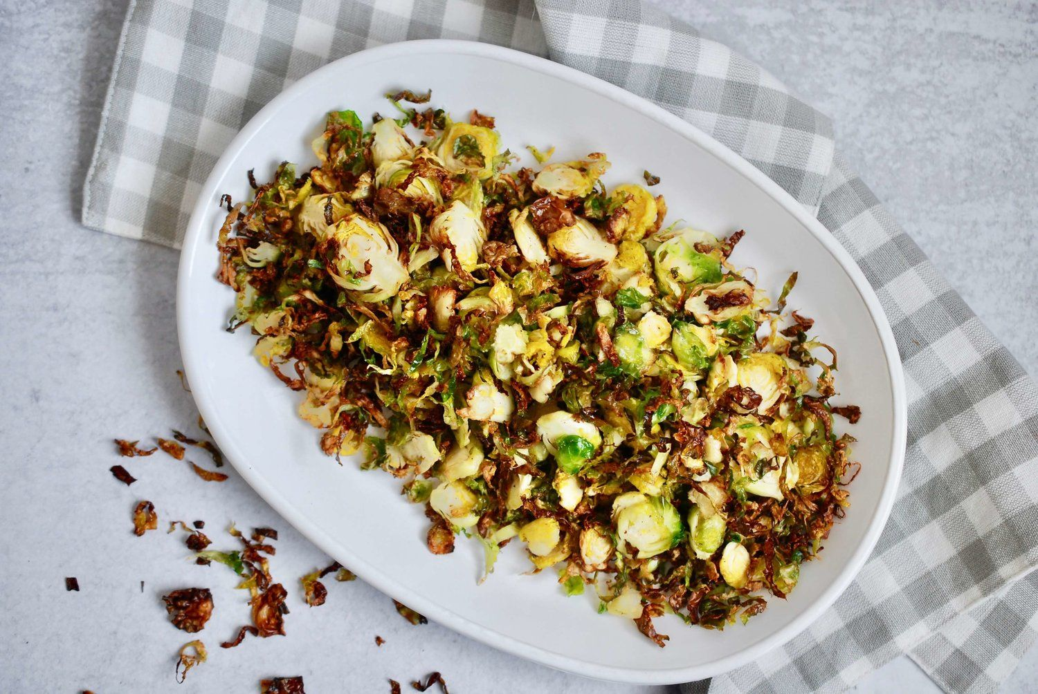 how to freeze shredded brussel sprouts