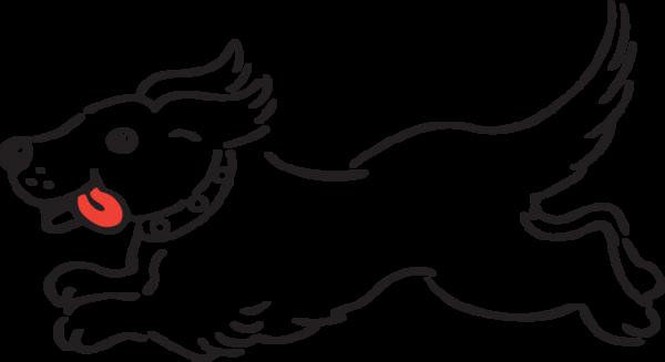 430GA - running dog | Dog coloring page, Clip art library ...