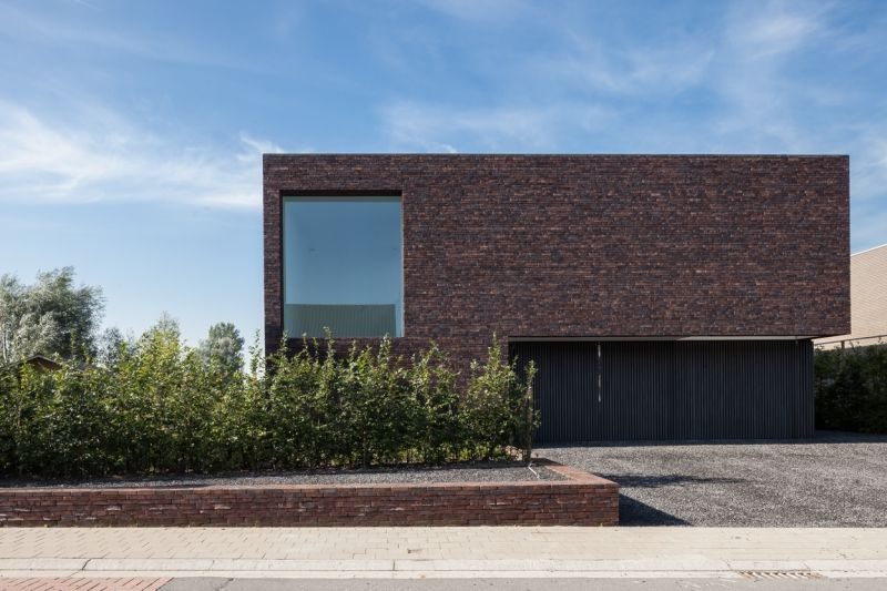 Single family house Zomergem - Projects - pascal francois - Exemple De Facade De Maison