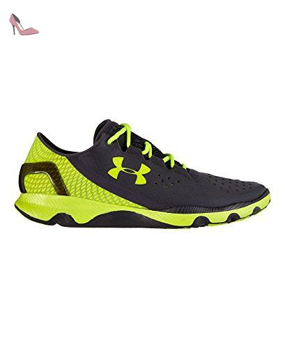 Under Armour Speedform Apollo, Chaussures de running homme, Gris (Lead/High-Vis  Yellow), 44.5: Amazon.fr: Chaussures et Sacs
