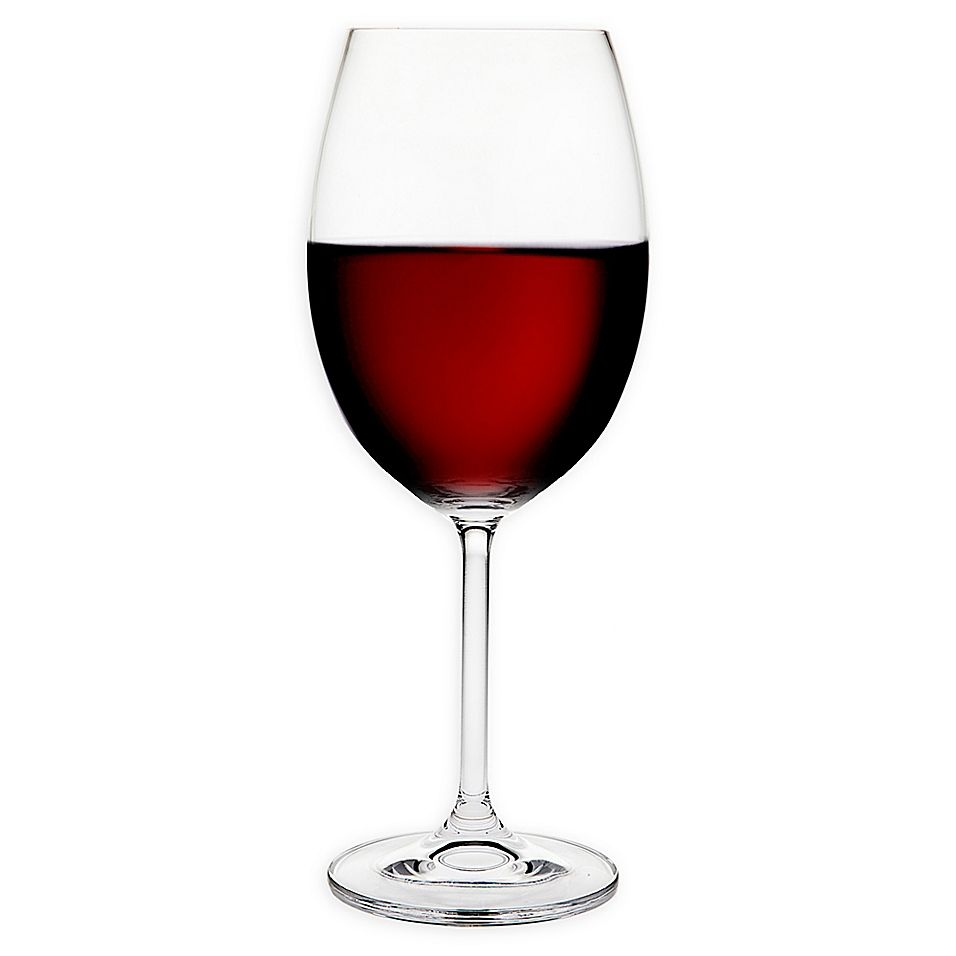 Meridian Crystal Red Wine Glasses Set Of 4 Red Wine Personalized Wine Glass Wine
