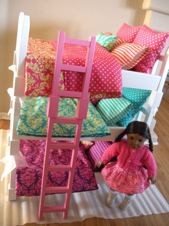 Available For January 2014 Doll Bunk Bed By Paynestdollboutique